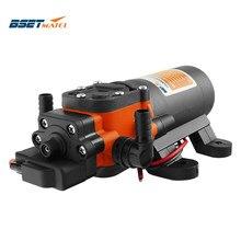 Bomba de agua marina 35PSI, maquina de bombeo autocebante de 12V con motor de transferencia, ideal para duchas y baños de RV Caravan, accesorios de embarcación