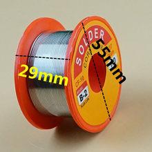0.5/0.6/0.8/1.0/mm 63/37 fluxo 2.0% 45ft estanho chumbo fio melt rosin núcleo solda fio de solda rolo