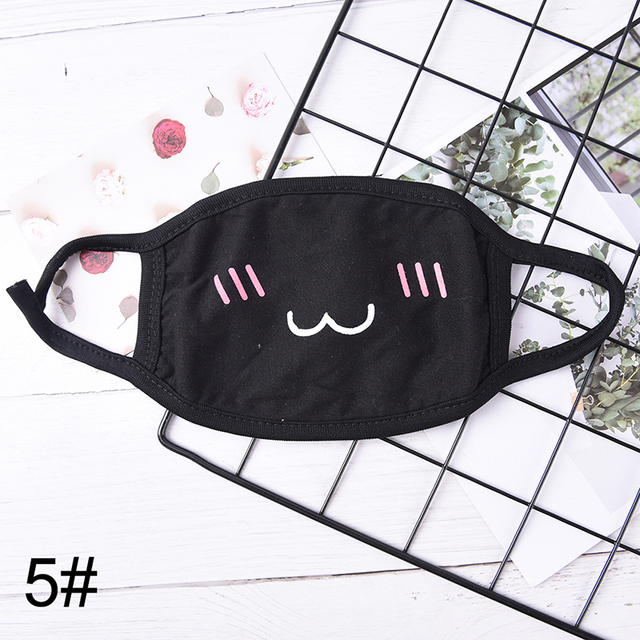 1PCS Cotton Dustproof Mouth Face Mask Anime Cartoon Kpop Women Men Muffle Face Mouth Masks 3
