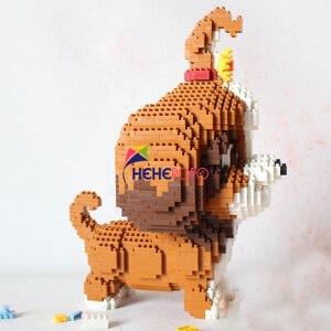 Image 2 - 2100 قطعة 16128 الماس كتل شيه تزو الكلب نموذج صغير الطوب لعبة الدشهند التجمع عمل الشكل الاطفال اللعب هدايا الأطفال