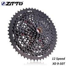 ZTTO-Cassette de 12 velocidades 9-50T para bicicleta, piñón XD, acero negro 9-50, e13, rango de 556 %, 12 s, compatible con GX eagle M7100 k7