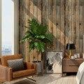 Самоклеящиеся обои в стиле ретро из искусственной древесины, рулон съемных виниловых настенных покрытий для восстановленного дома
