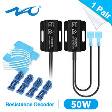 NAO OCB resistencia de carga de coche LED decodificador para P21W BA15S PY21W 1156 W16W T15 1157 P21/5W T20 7443 7440 T25 3156 3157 BA9S BAX9S H21W