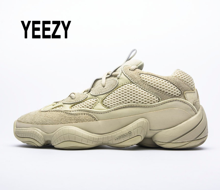 Yeezy Tennis-Shoes Athletic-Sneakers Boost Outdoor-Light Desert Rat Kanye-West Original