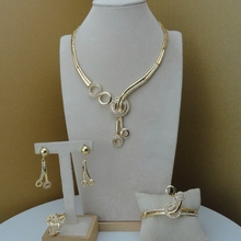 Yuminglai Unique Design African Fashion Jewelry Sets Dubai Costume Jewelry FHK7786