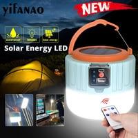 USB Solar LED Licht Nachtlicht Nacht Markt Lampe Für Outdoor Zelt Lampe Tragbare Laterne Notfall Lichter Für BBQ Wandern camping