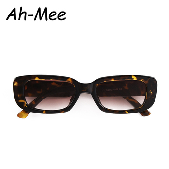 2020 Small Sunglasses Women Men Trendy Vintage Brand Designer Hip Hop Square Gradient Lens Sun Glasses Female Eyewear UV400