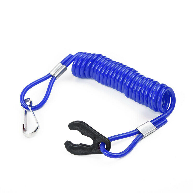 1pc Blue 1.6m Safety Rope Accessories High Quality Jet Ski Outboard Stop Kill Key Floating Safety Lanyard Rope For Honda Mercury