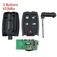 цена на Smart Key 433MHz Fit for Land Rover for Range Rover Freelander 2 LR2 Sport Car Remote For Land Rover Freelander 2 2007-2015