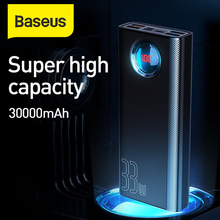 Baseus 30000mAh PowerBank QC 3.0+ PD Fast Charger 33W Power bank