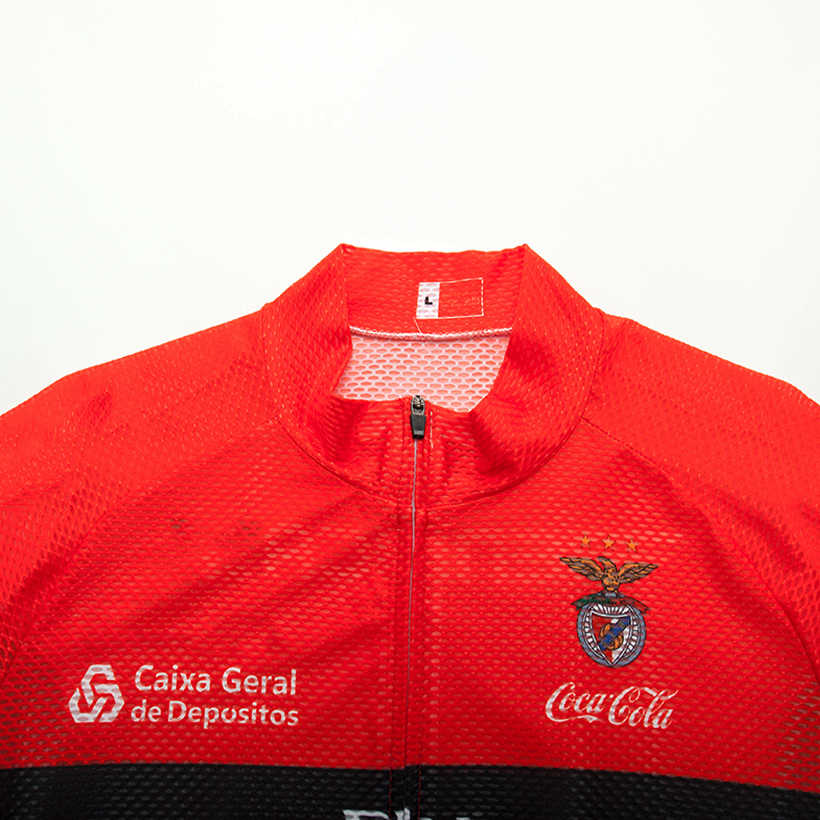 TEAM Emirates Lisboa BENFICA cyling jersey 20D spodnie rowerowe garnitur mężczyźni lato szybkie suche pro koszulki rowerowe Maillot Culotte wear