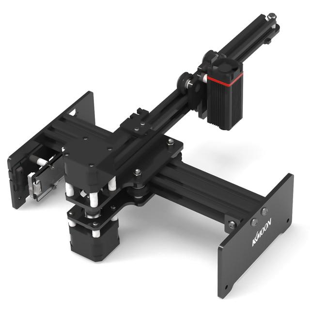 KKmoon 20000mW DIY Desktop Laser Engraver Printer Portable Engraving Carving Machine Mini Carver for Metal Wood Engraving