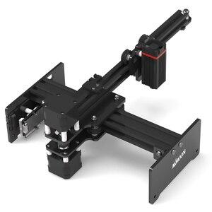Image 1 - KKmoon 20000mW DIY masaüstü lazer gravür yazıcı taşınabilir gravür oyma makinesi Mini Carver Metal ahşap oyma