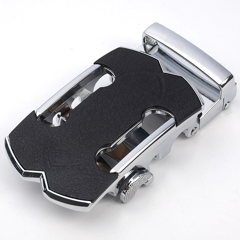 New Fashion  Men's Business Alloy Automatic Buckle Unique Men Plaque Belt Buckles For 3.5cm Ratchet Men Apparel Accessories
