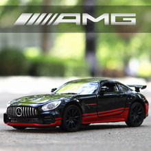 1/32 Diecasts AMG GT R Metal Model Car Sports Mockup Cars Vehicles Birthday Gift for Kids Friend Client Man Toys for Boys Adults(China)