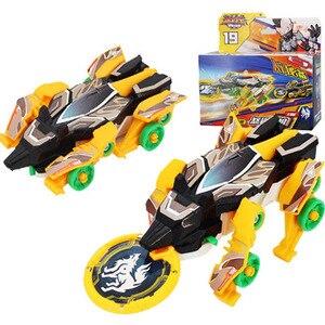 Screechers wild burst speed fly deformation car action figures capture wafer flips transformation car toys for kids gift