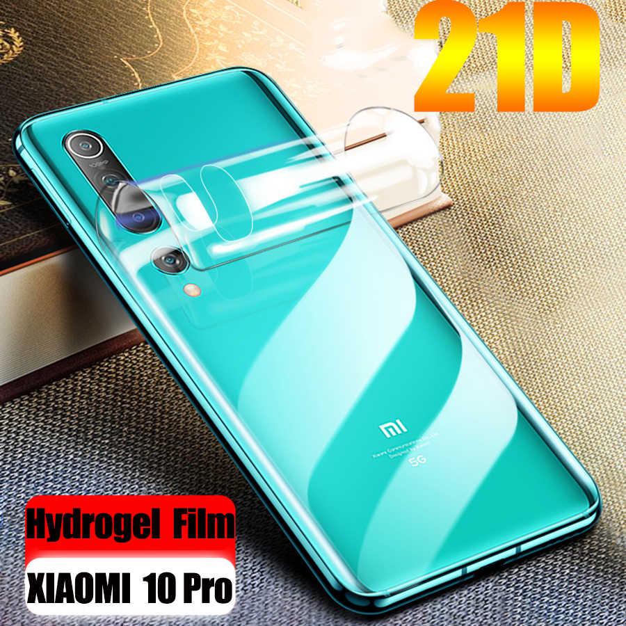 21D pełna folia hydrożelowa do Xiao mi mi 10 Pro A3 CC9 9T Pro 9 Lite miękka osłona na ekran z tpu czerwona mi uwaga 8 7 9 K30 Pro (nie szkło)