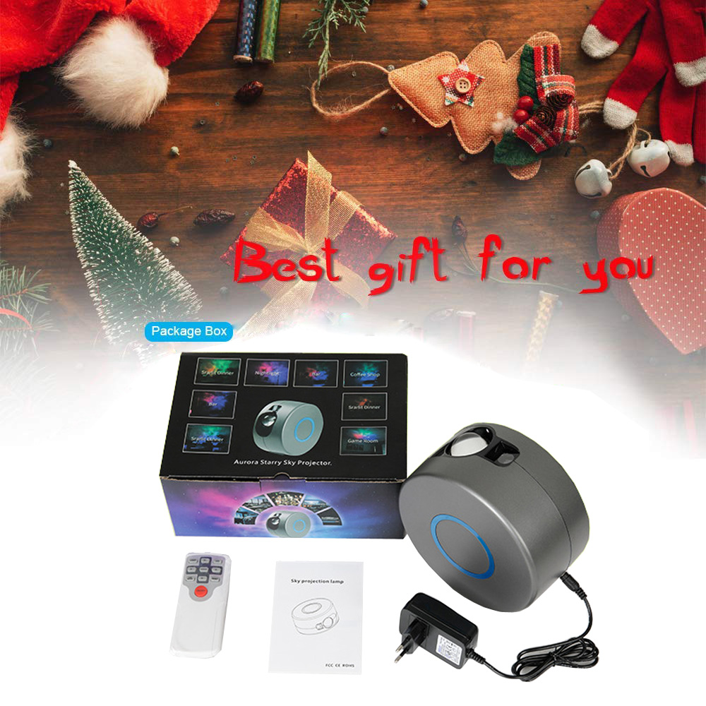 Galaxy Starry Sky Projector Rotating Stars and Starry Sky Laser Projector Colorful Night Light Led Galaxy Home