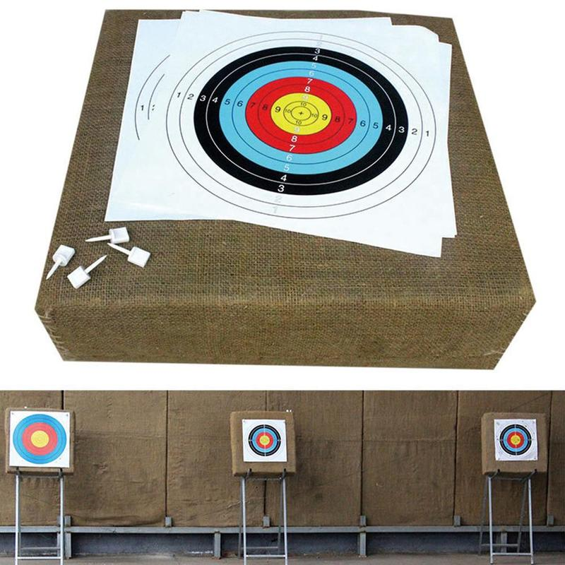 10pcs High Quality Archery Target Paper Practice Shooting Shooting Archery Equipment Target Paper Target Replacement For Ta L4N7