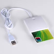 Smart Card Reader Portable USB 2.0 Full Speed Smart Chip Reader IC Cards Reader Credit Card Readers Supports I2C memory card yongkaida acr122t nfc contactless smart card reader