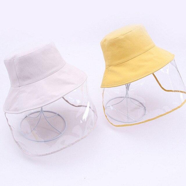Παιδικό καπέλο με προστατευτικό κάλυμμα προσώπου