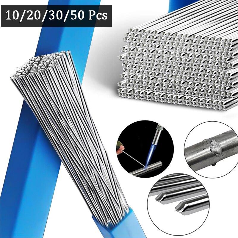 Low Temperature Easy Aluminum Welding Rods Weld Bars Cored Wire 2mm Rod Solder for Soldering Aluminum No Need Solder Powder