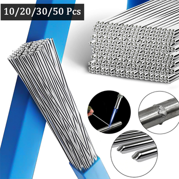Low Temperature Easy Aluminum Welding Rods Weld Bars Cored Wire 2mm Rod Solder for Soldering Aluminum No Need Solder Powder image