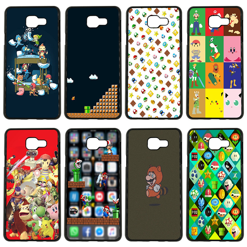 Funny Super Marios Bros Mushrooms Cell <font><b>Phone</b></font> <font><b>Case</b></font> <font><b>Hard</b></font> <font><b>Cover</b></font> for <font><b>Samsung</b></font> Galaxy S8 <font><b>S9</b></font> Plus S3 S4 S5 Mini S7 S6 Edge Plus Shell image