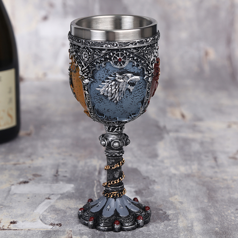 Song Of Ice And Fire Creative Goblet Game Of Thrones Wine Glass Mugs 220ml Best Got Fan Gift Tumblers Aliexpress
