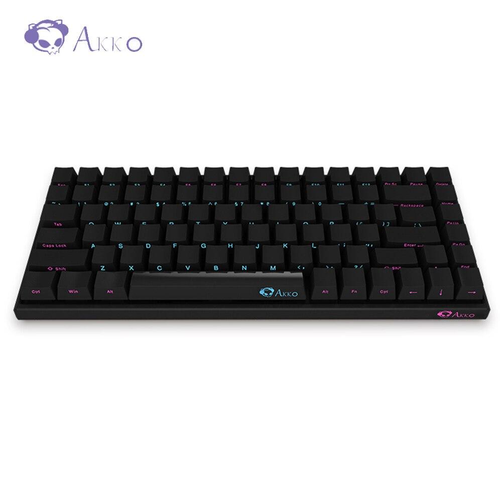 AKKO 3084 clavier de jeu mécanique Cherry MX commutateur Compact 84 touches 85% PBT type-c Port USB facile à prendre