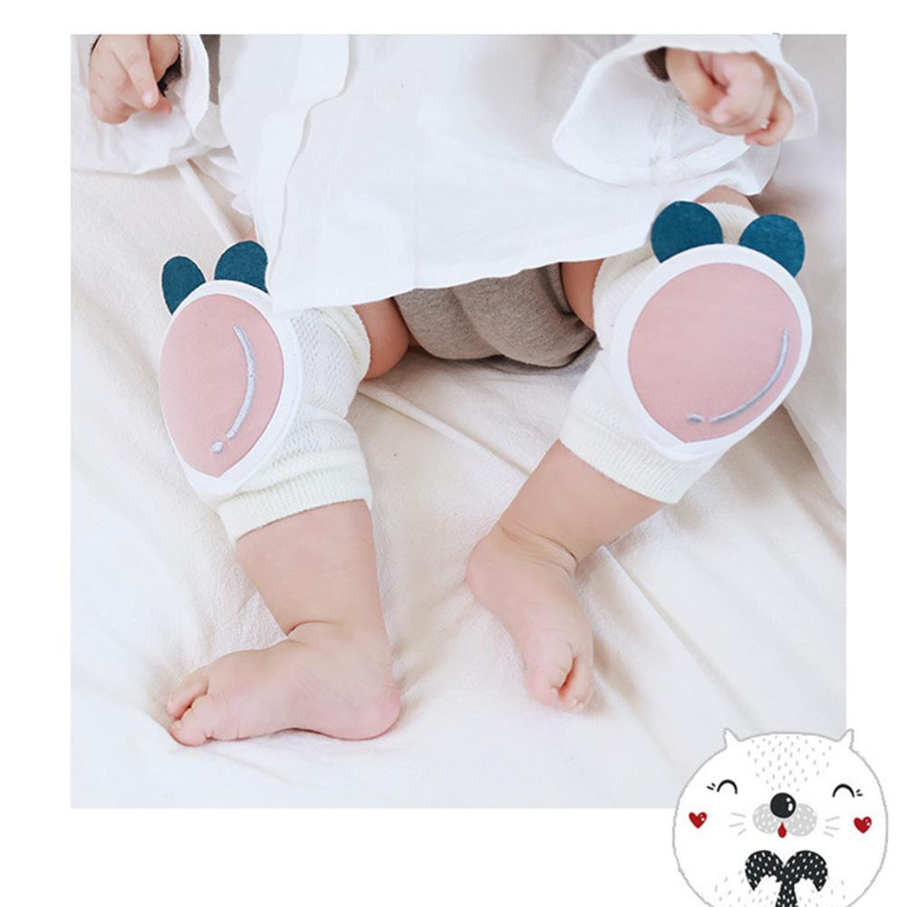 1 Pair Baby Knee Pads Kids Safety Crawling Elbow Cushion Pad