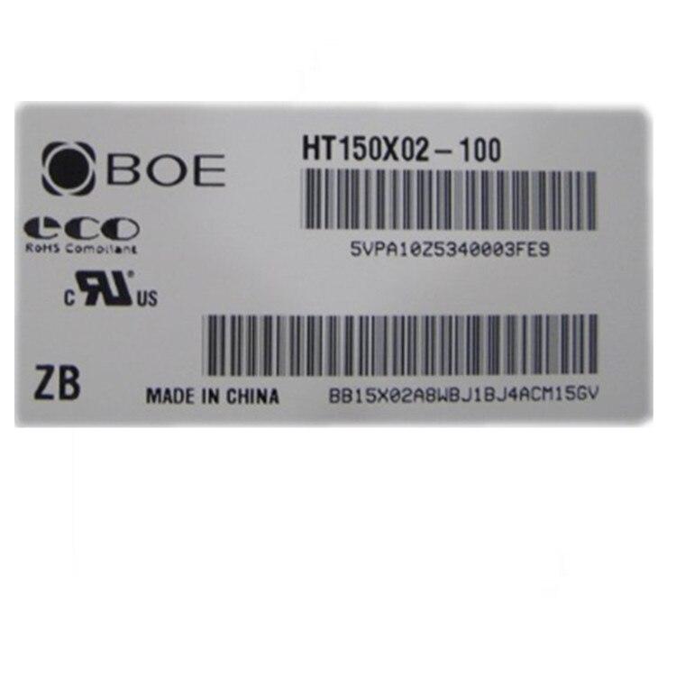 Boe 15 polegada HT150X02-100 tela lcd industrial ht150x02 dupla lâmpada lcd tela