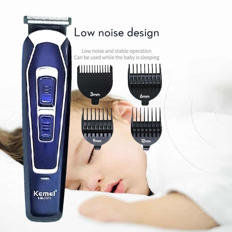 Kemei машинка для стрижки волос, парикмахерский триммер для волос, электрическая машинка для стрижки, бритва, триммер для бороды, Мужская маши...
