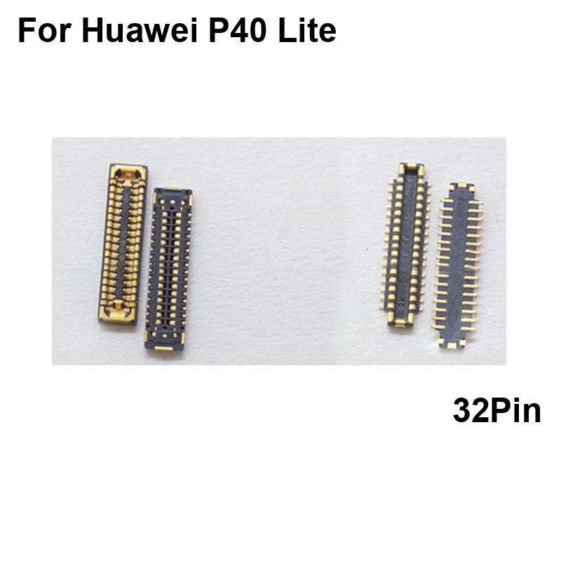 Fpc-Connector Flex-Cable Screen-On 5pcs for Huawei P40-lite/Lcd-display/Screen-on/..