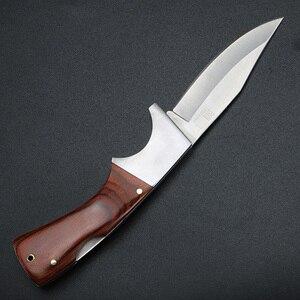 Image 5 - XUAN FENG уличный охотничий нож, нож для выживания, походный тактический нож, охотничий нож, стальной складной нож высокой твердости