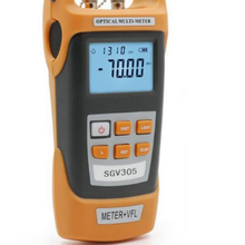 Handheld high-precision Optical Power Meter -70~+3dBm and 5MW VFLVisual Fault Locator Optical Laser Light Source