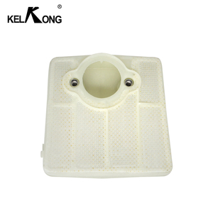 Image 3 - KELKONG 2Pcs Air Filters For Husqvarna 61 66 181 266 281 288 Carburetor Chainsaw Motorcycle Parts Replace # 501 80 71 05