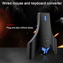 Fashion Mobile Game Mouse Keyboard Converter USB Wireless Bluetooth Connection Adapter for Switch P S4 and PC
