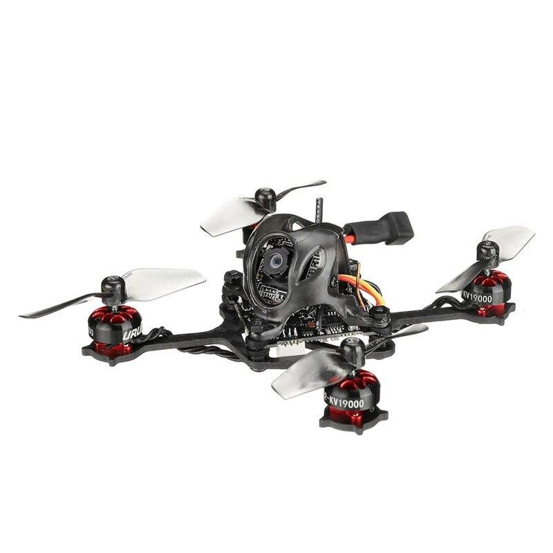 URUAV UZ80 80mm Super Micro 20g 1S DIY Toothpick FPV Racing Drone Quadcopter w/ Runcam Camera 5.8G 40CH VTX 0802 19000KV Motor 4