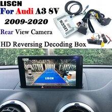 Audi A3 8v S3 8p MMI 3G 용 카메라 반전 2009 ~ 2020 백업 카메라 인터페이스 어댑터 전면 후면 카메라 디스플레이 디코더 개선