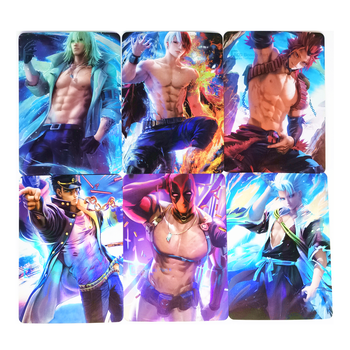 9pcs/set ACG BEAUTY 2 Sixth Bomb Heroes 2 Toys Hobbies Hobby Collectibles Game Collection Anime Cards