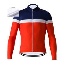 La Passion 2020 yeni erkek kış termal polar bisiklet forması uzun kollu MTB bisiklet Jersey yarış bisiklet kıyafeti giyim Ropa Ciclismo
