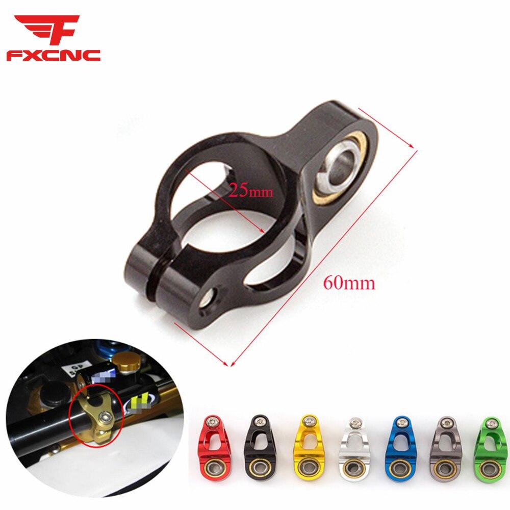 Universal Motorcycle Steering Damper Bracket Kit Support Holder Safe Control for Yamaha MT07 MT09 MT-07 MT-09