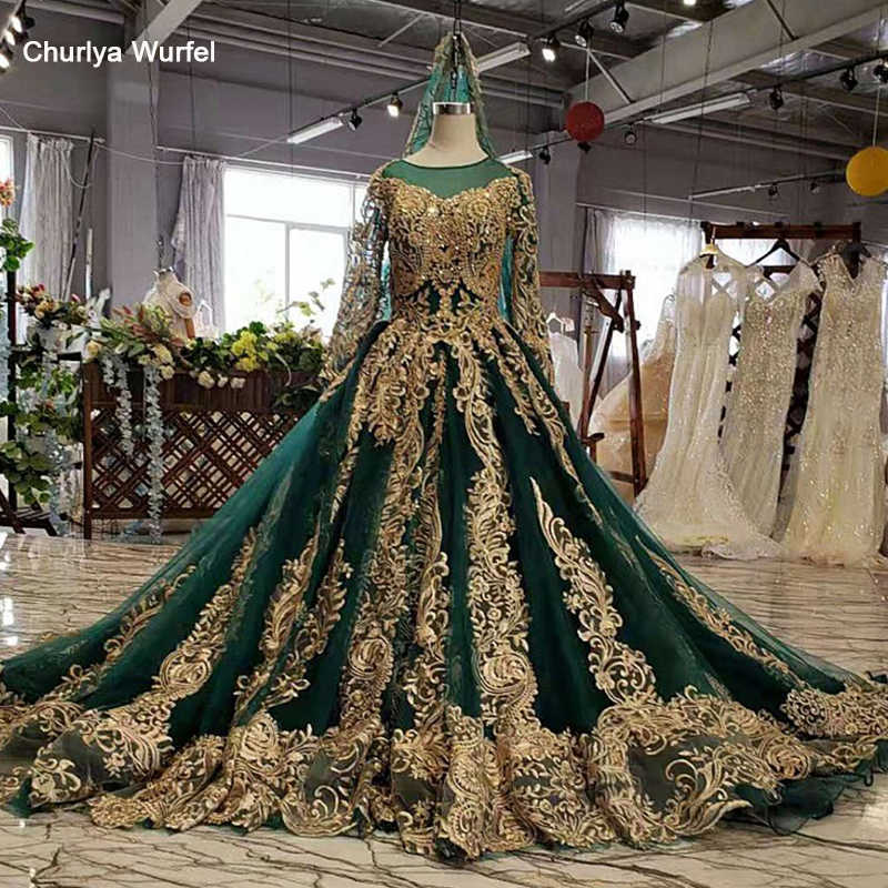 LS11690 women's long evening gowns ball gown veil appliques sequined sweep train ruffles women evening dress vestido de noche