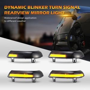Image 2 - 2 個ダイナミックターン信号 LED バックミラーインジケータウインカーリピータフォルクスワーゲン VW ゴルフ 5 ジェッタ MK5 パサート b5.5 B6