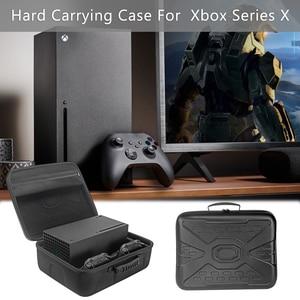 Image 4 - נסיעות משחק קונסולת אחסון תיק מקרה נרתיק עמיד הלם תיבת נסיעות נשיאה אלחוטי בקר מקרה עבור Xbox סדרת X Controll