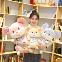 цена на Soft Hot Cute Mouse Plush Toy Stuffed Soft Animal Mouse Rat Doll Pillow Kawaii Birthday Gift for Children Lovely Kids Baby Toy