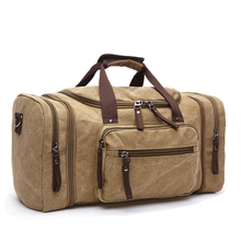 Soft Canvas Men Travel Bags Carry On Luggage Bags Men Duffel Bag Travel Tote Weekend Bag High Capacity Dropshipping vintage retro military canvas leather men travel bags luggage bags men bags leather canvas bag tote sacoche homme marque