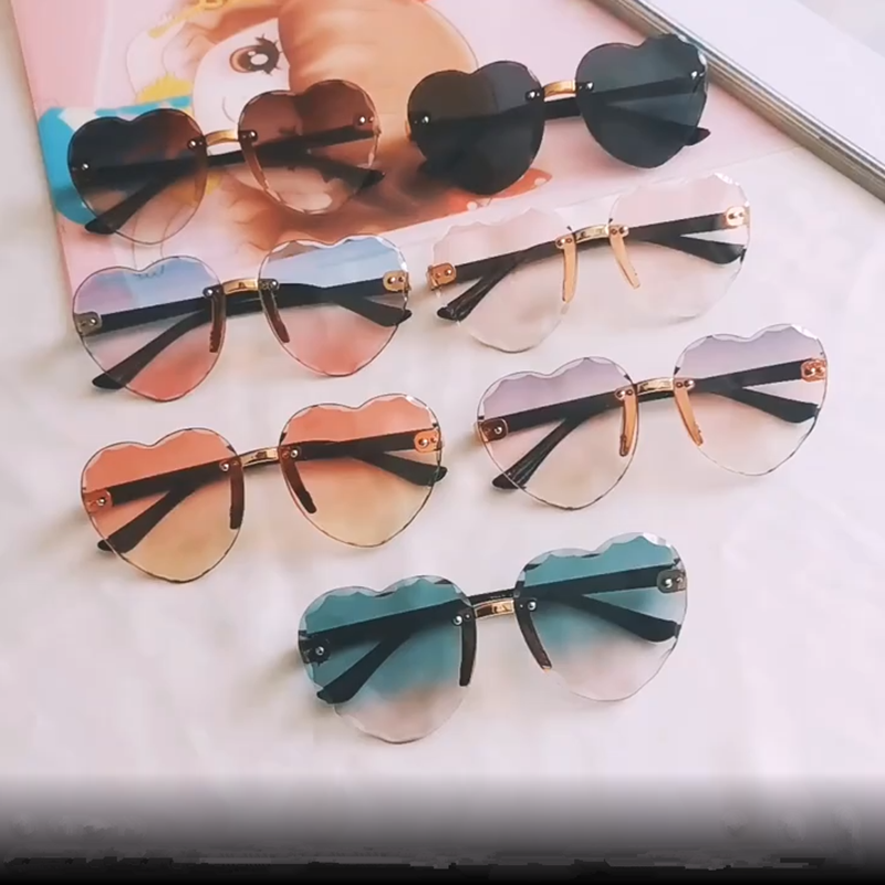 Classic Lovely Children Boys Girls Sunglasses Candy Color UV400 Protection
