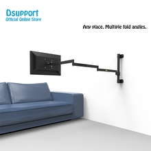 Wall Mount Ultra Long Arm Monitor Support Full Motion Monitor Holder Mount Bracket